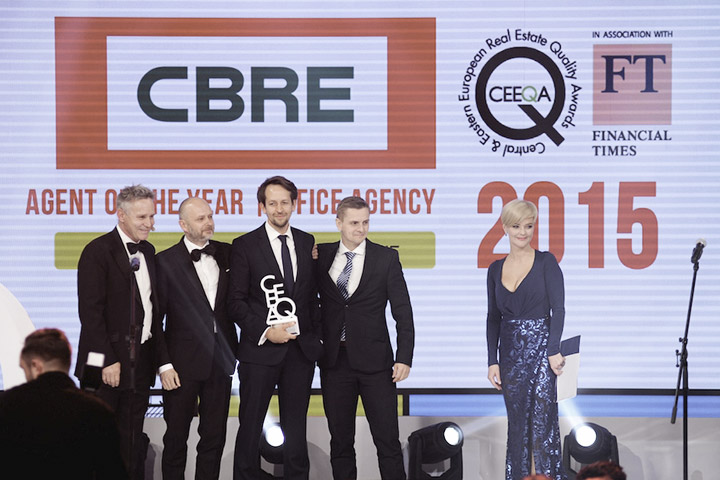 CBRE shines at 2015 CEEQA Gala in event to remember