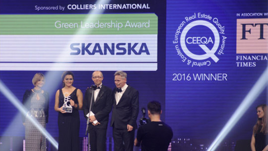 Skanska stays out in front
