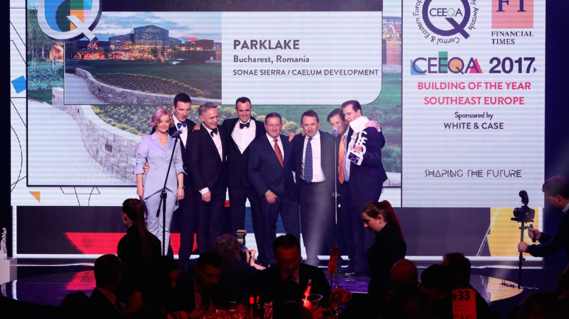 Sonae Sierra & Caelum strike SEE gold with ParkLake, Koszyki gets Retail Dev award