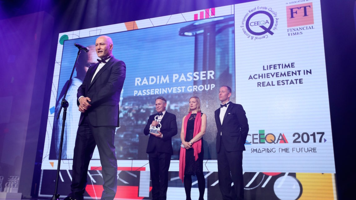 Radim Passer, a lifetime of achievement in real estate