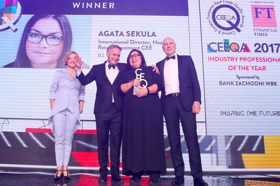 Agata Sekula leads CEEQA 2017 victors parade