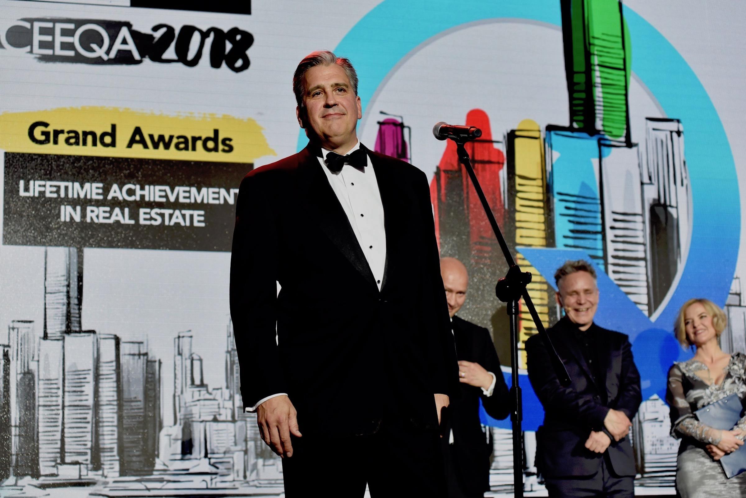 Heitman's Gordon Black receives this year's Lifetime Achievement in Real Estate award