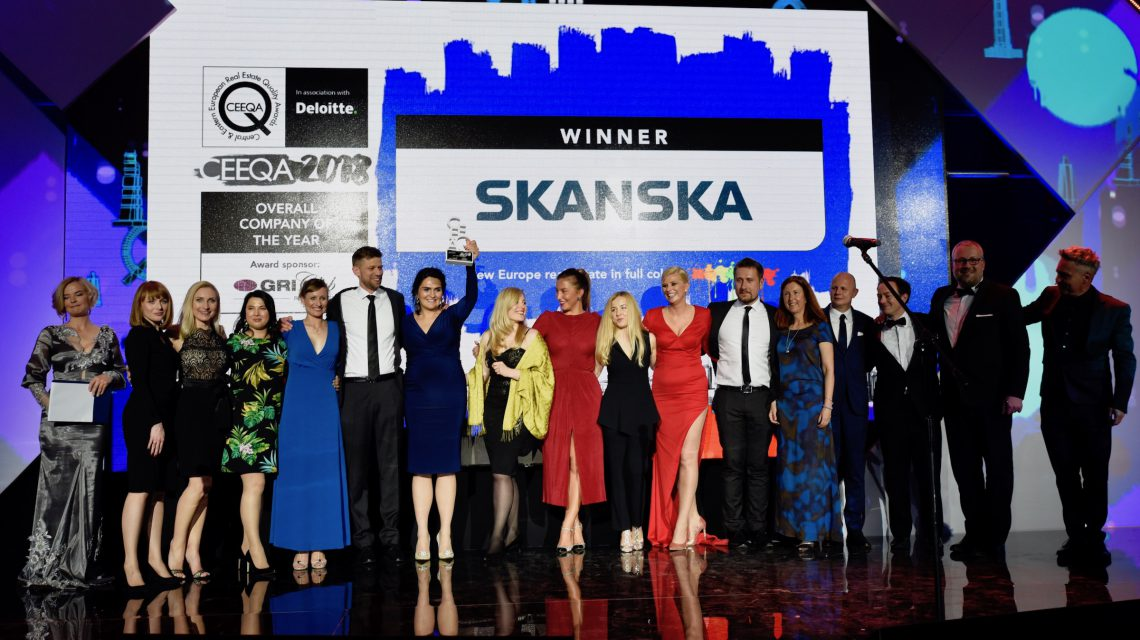 "Skanska signals market domination with five awards including two for ""Five"""