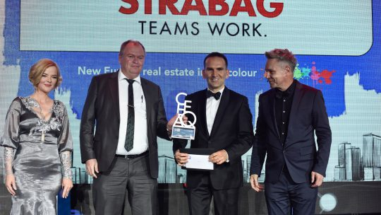 Strabag wins back Construction gong