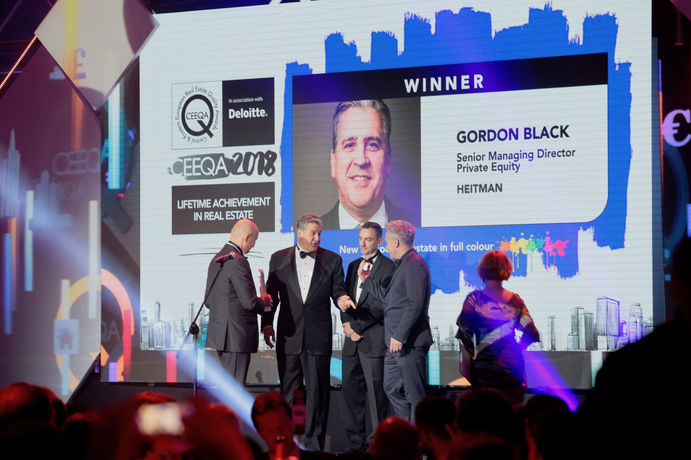 CEEQA | Gordon Black | Lifetime Achievement in Real Estate
