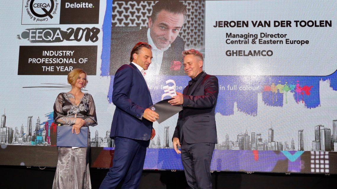 Jeroen van der Toolen named Industry Pro