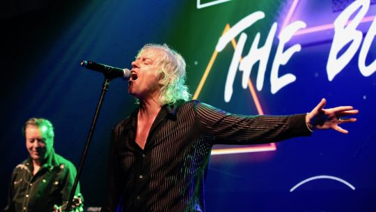 The Boomtown Rats leave audience with Diamond Smiles