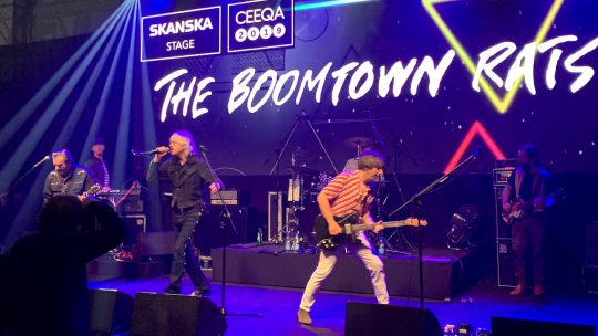 Iconic band The Boomtown Rats leave audience with Diamond Smiles: CEEQA Entertainment