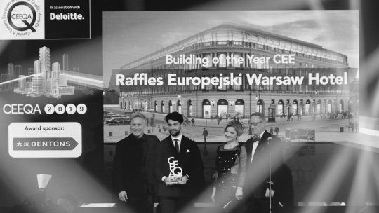 Hotels in the ascendant as Raffles Warsaw and Chedi Lustica Bay in Montenegro lift big prizes